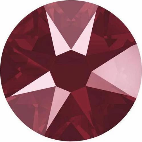 2000, 2058 & 2088 Swarovski® Flatback Crystals Non Hotfix Crystal Dark Red