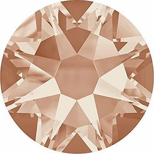 2000, 2058 & 2088 Swarovski® Flatback Crystals Non Hotfix Light Peach