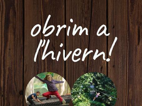 Bosc elàstic i Tirolina Zig-zag: oberts tot l'any!