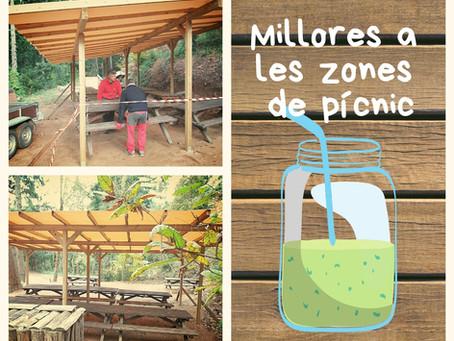Zones de pícnic cobertes. Per fi!