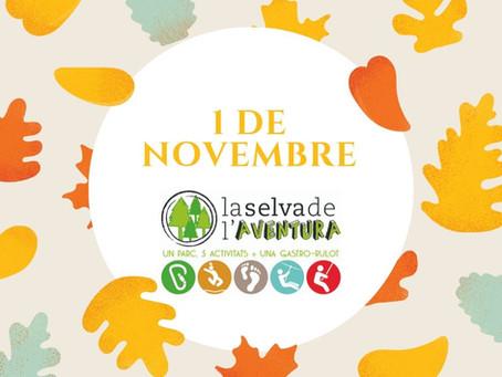 L'1 de novembre tindrem obert