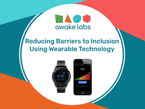 Reducing barriers to inclusion using wearable technology
