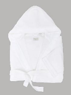 Robe de chambre Terry avec capuchon - Hooded WaffleTerry Robe