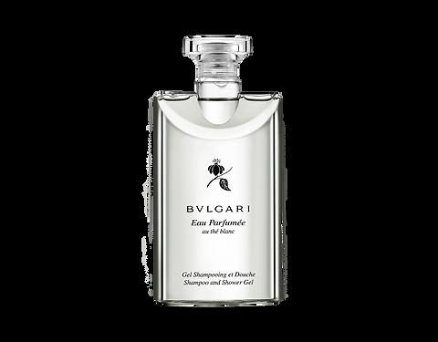 Shampoing et gel douche Eau parfumée au thé blanc Bulgari