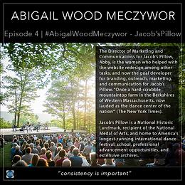 4   #AbigailWoodMeczywor - Jacob's Pillow  Copy