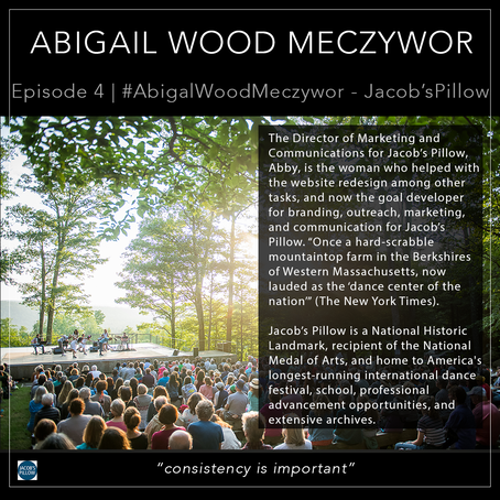 4   #AbigailWoodMeczywor - Jacob's Pillow
