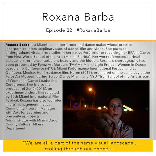 32   #RoxanaBarba