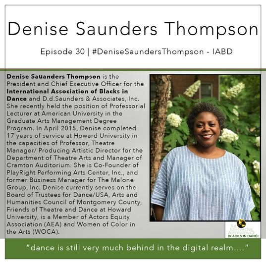 30   #DeniseSaundersThompson - IABD