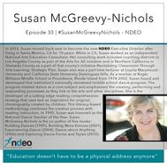 33 | #SusanMcGreevyNichols - NDEO