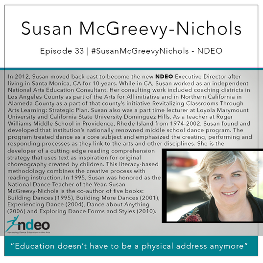 33   #SusanMcGreevyNichols - NDEO