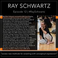 12 | #RayEliotSchwartz
