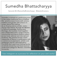 68 | #SumedhaBhattacharyya - @duetwithcamera