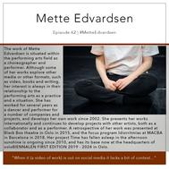 62 | #MetteEdvardsen