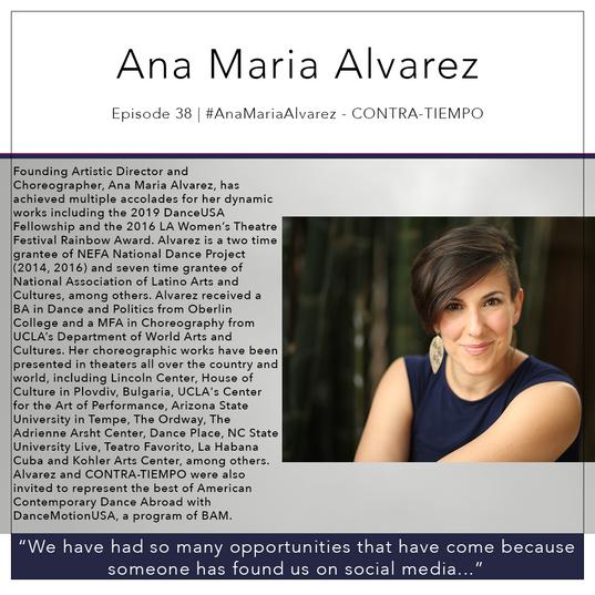 38   #AnaMariaAlvarez - CONTRA-TIEMPO