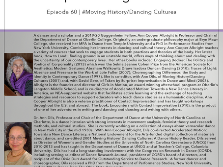 60 | #MovingHistory/DancingCultures -​ Ann Cooper Albright & Ann Dils