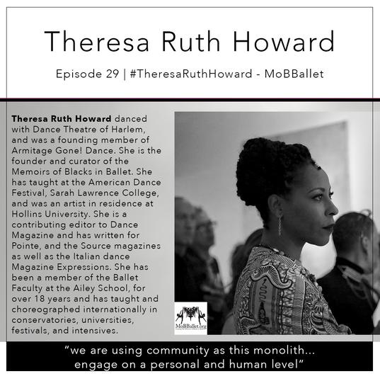 29   #TheresaRuthHoward - MoBBallet