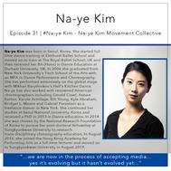 31 | Na-yeKim -  Na-ye Kim Movement Collective