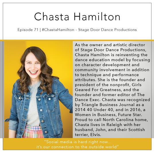 71   #ChastaHamilton - Stage Door Dance Productions