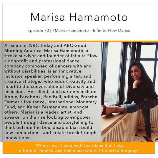 73   #MarisaHamamoto - Infinte Flow Dance