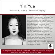 26 | #Yin Yue - YY Dance Company