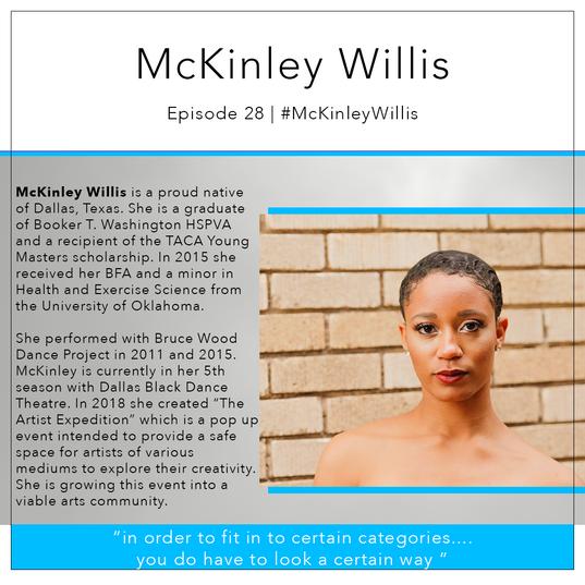 28   #McKinleyWillis