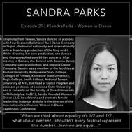 21 | #SandraParks - Women In Dance