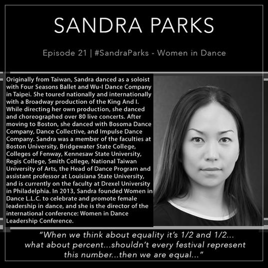 21   #SandraParks - Women In Dance