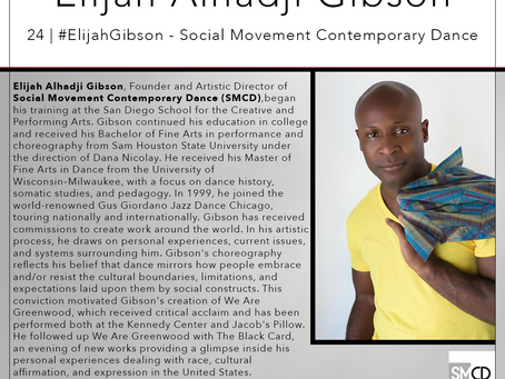 24 | #ElijahGibson - Social Movement Contemporary Dance