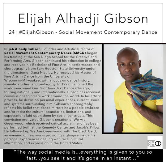 24   #ElijahGibson - Social Movement Contemporary Dance