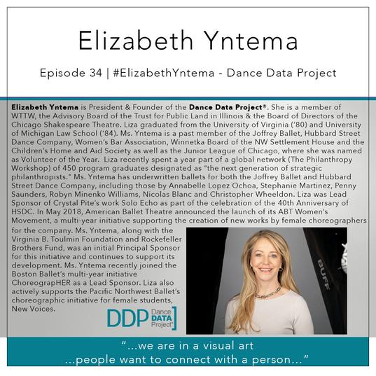 34   #ElizabethYntema - Dance Data Project