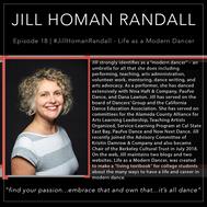 18 | #JillHomanRandall - Life as a Modern Dancer Blog