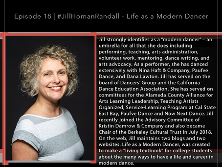18 | #JillHomanRandall - Life as a Modern Dancer Blog