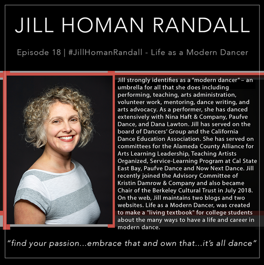 18   #JillHomanRandall - Life as a Modern Dancer Blog