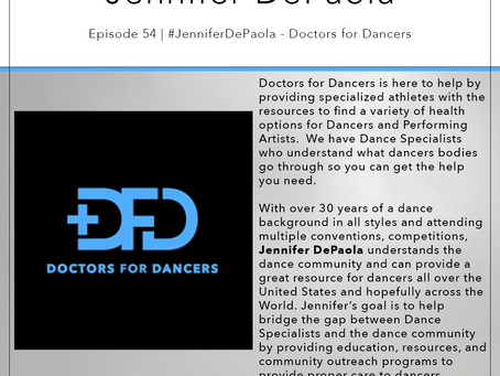 54 | #JenniferDepaola - Doctors for Dancers