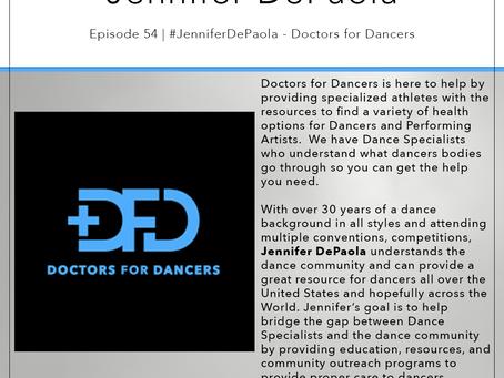 54 | #JenniferDepaola - Doctors for Dancers