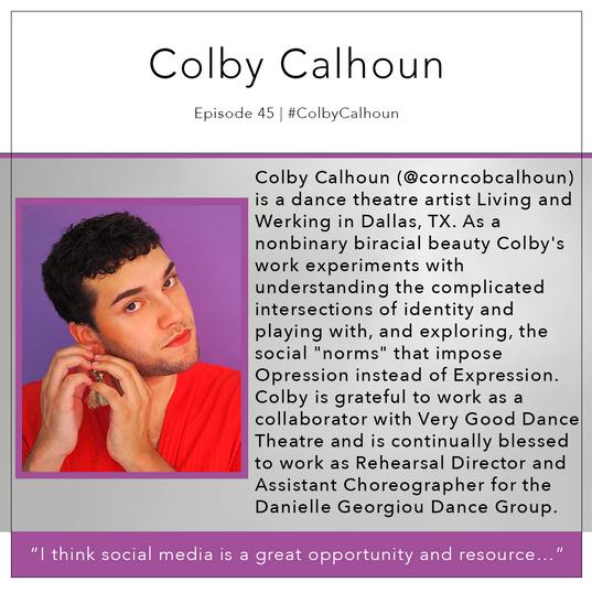 45   #ColbyCalhoun
