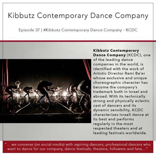 37   #KibbutzContemporaryDanceCompany - KCD