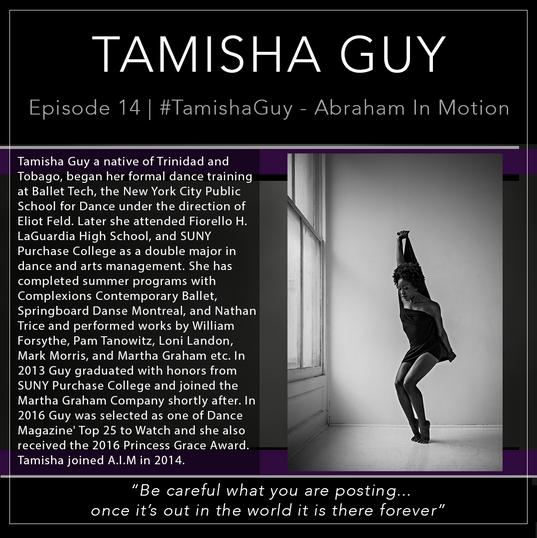 14   #TamishaGuy - A.I.M