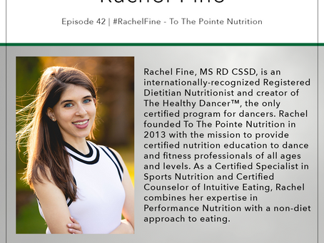 42 | #RachelFine - To The Pointe Nutrition