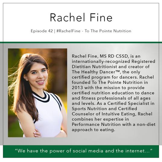42   #RachelFine - To The Pointe Nutrition