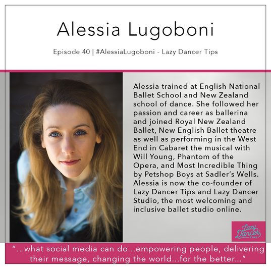 40   #AlessiaLugoboni - Lazy Dancer Tips