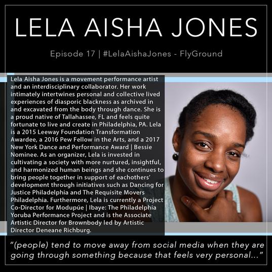 17   #LelaAishaJones - FlyGround