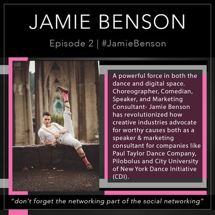 2   #JamieBenson