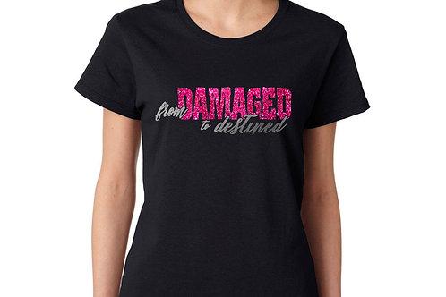 FDTD Pink Glitter w/ Silver Foil T-shirt
