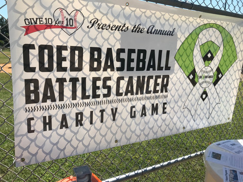 2019 Coed Baseball Battles Cancer Game and Fundraiser