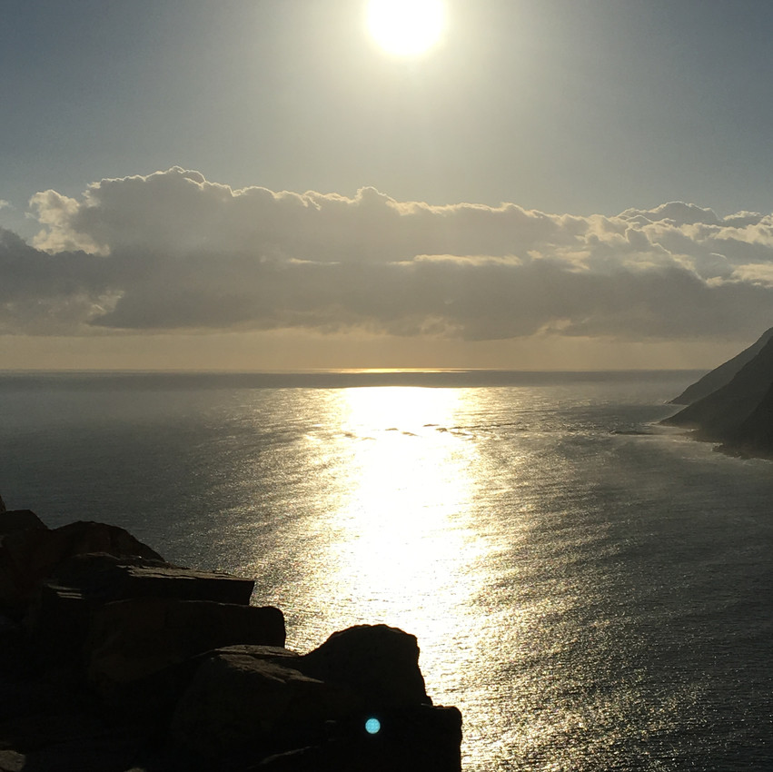Sunset `a Chapman's Peak