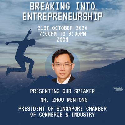 Breaking Into Entrepreneurship