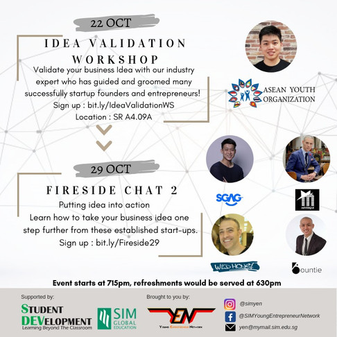 [Speaker's Profile] Idea Validation Workshop