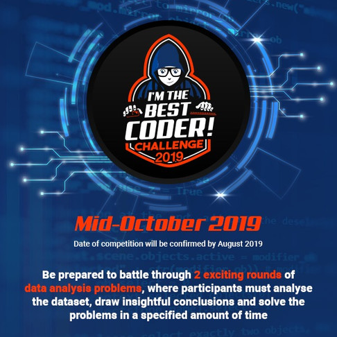 HELLO CODERS! SIM YOUNG ENTREPRENEUR NETWORK X SHOPEE I'm The Best Coder! Challenge 2019 IS COMING!!
