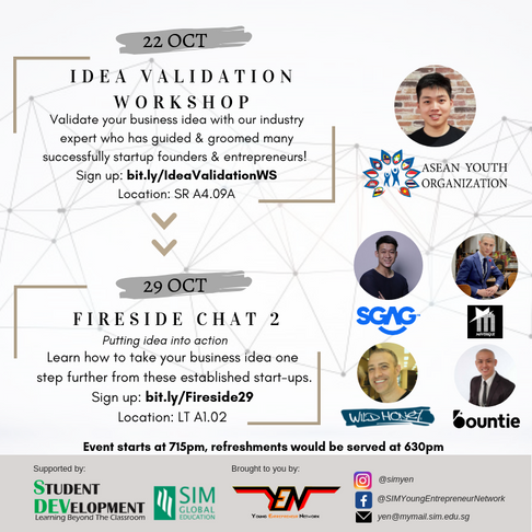 [Speaker's Profile] Fireside Chat 2